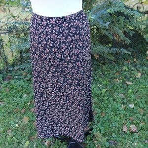 Kathie Lee Collection Skirts - Kathie Lee Floral Maxi Skirt 22/24